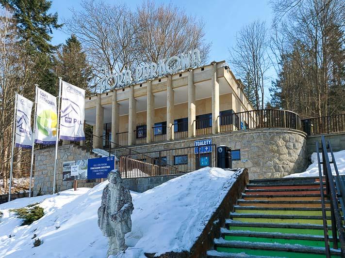 góra parkowa wejście