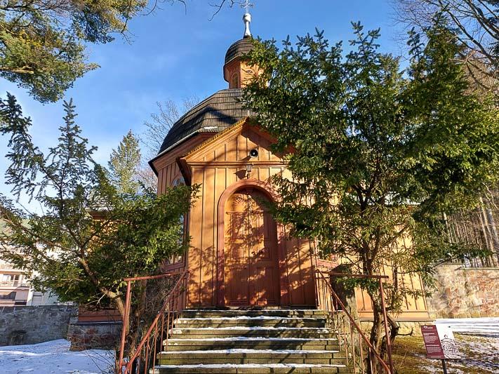 krynica-zdrój kościół
