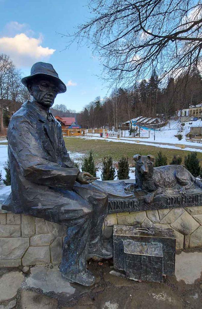 Krynica-Zdrój pomnik Nikifora Krynickiego