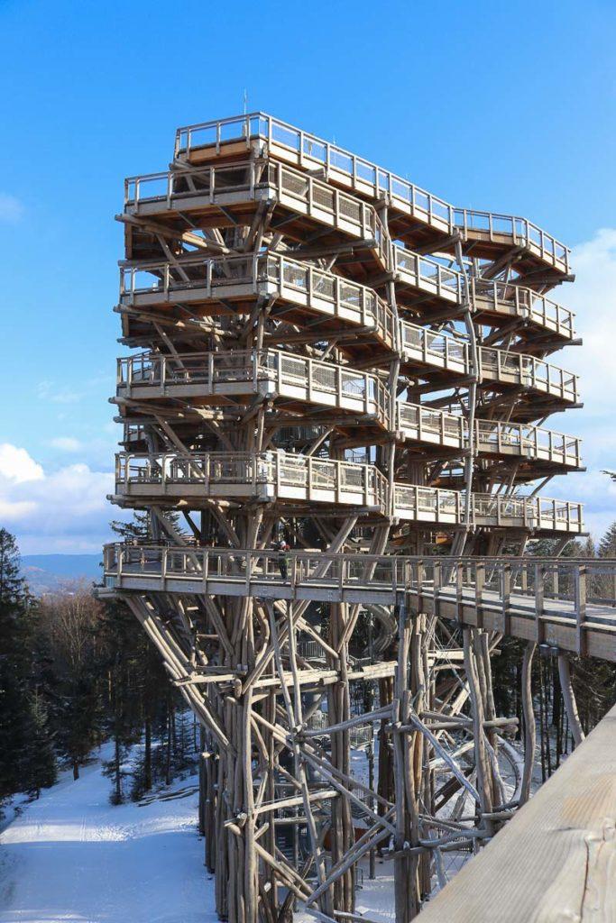 wieża widokowa krynica zdój