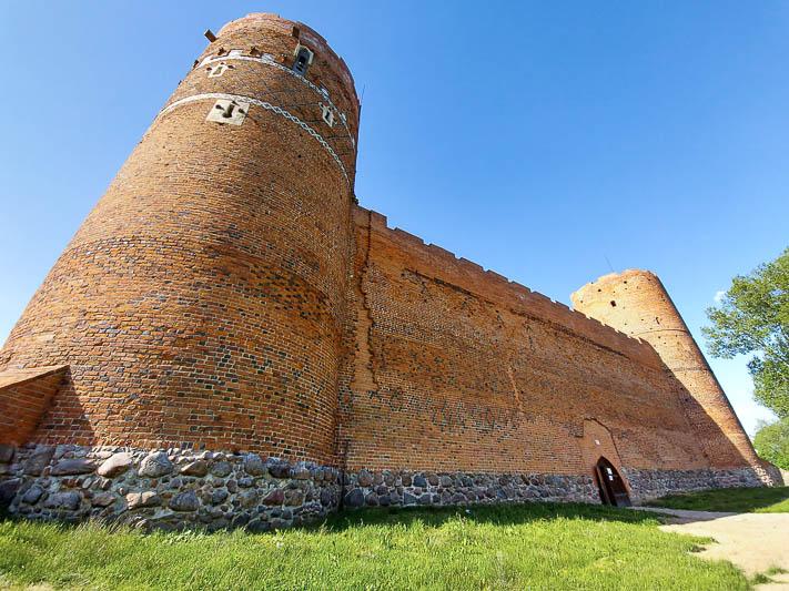 zamek w ciechanowie baszta zachodnia