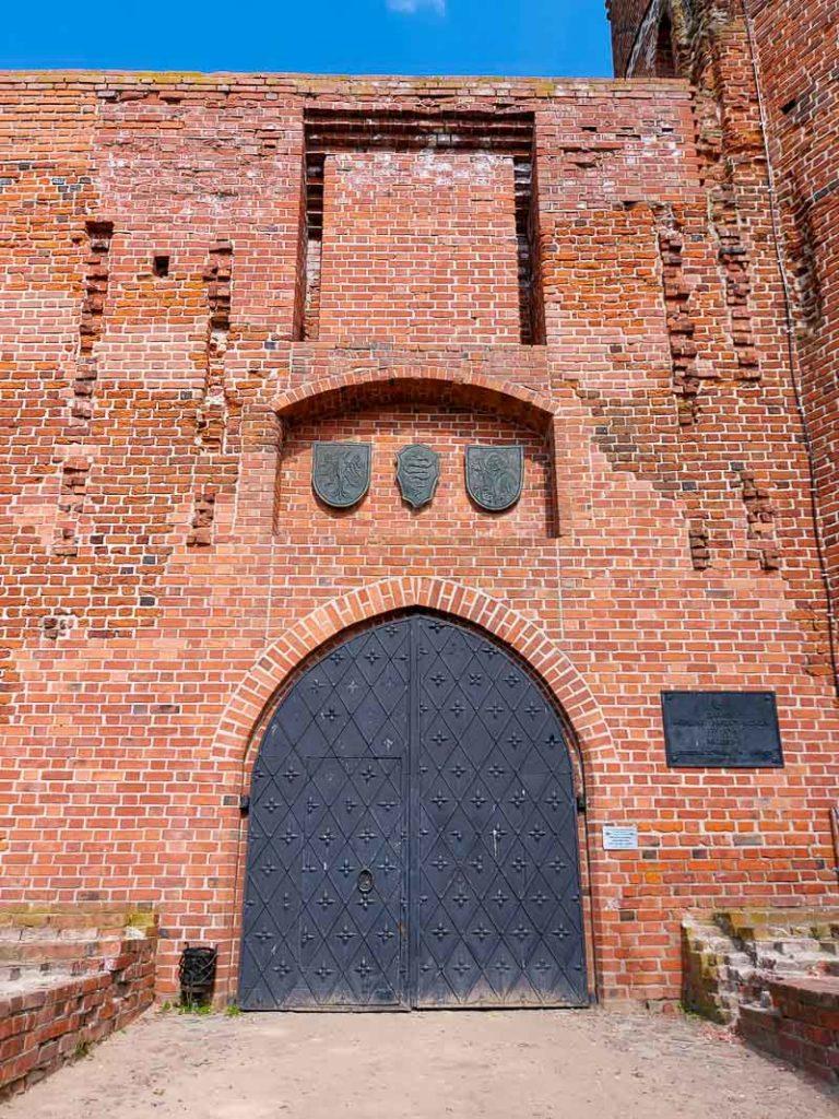 zamek Ciechanów wrota zamku