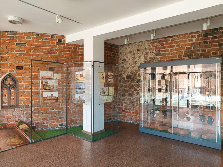 zamek w Ciechanowie wystawa archeologiczna