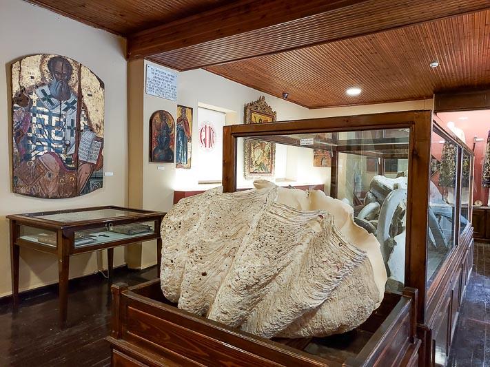 muzeum w klasztorze paleokastritsa