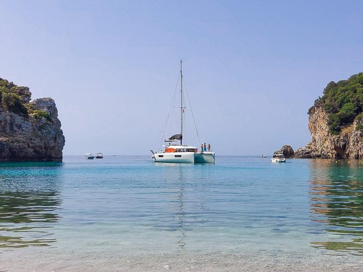Paleokastritsa Agios Spiridon