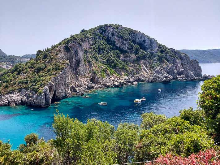 paleokastritsa wyspa korfu