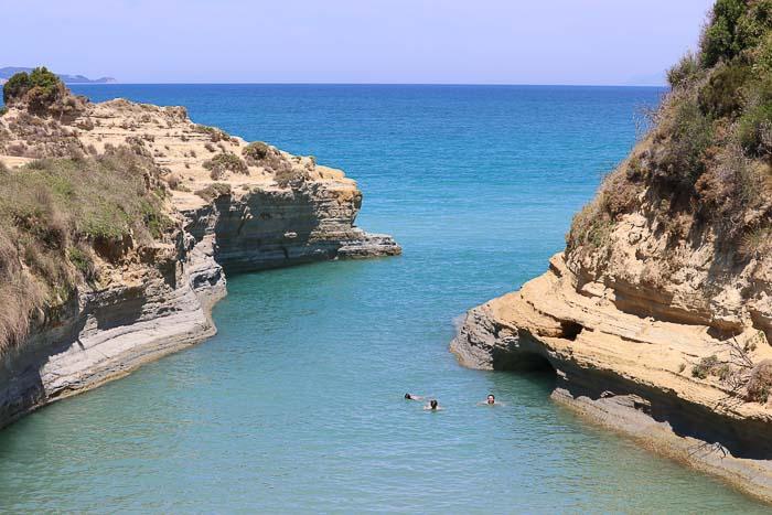 canal d'Amour Korfu sidari