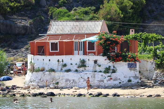 plaża Kontogialos Korfu