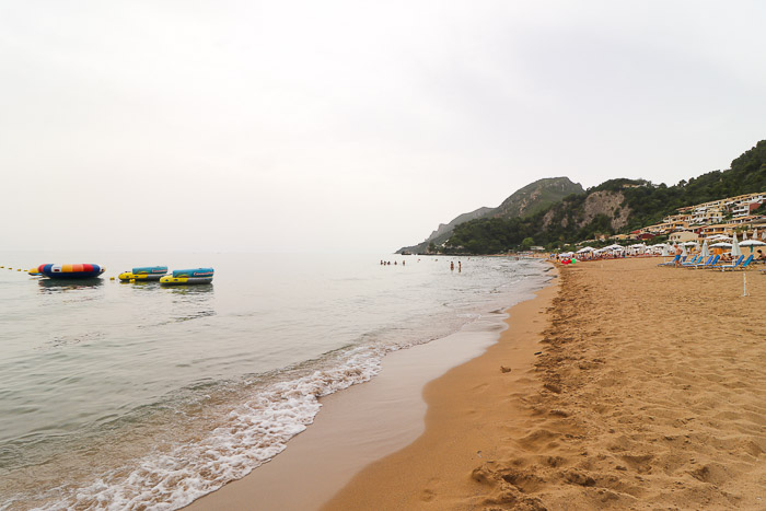 najpiękniejsze plaże na korfu