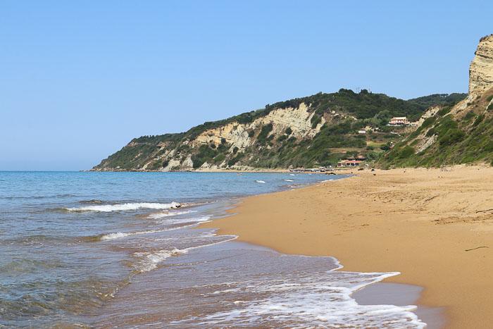 korfu najpiekniejsze plaże