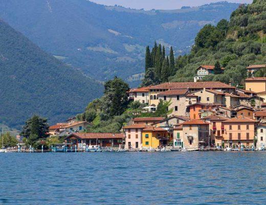 Monte Isola Lago d'Iseo Lombardia