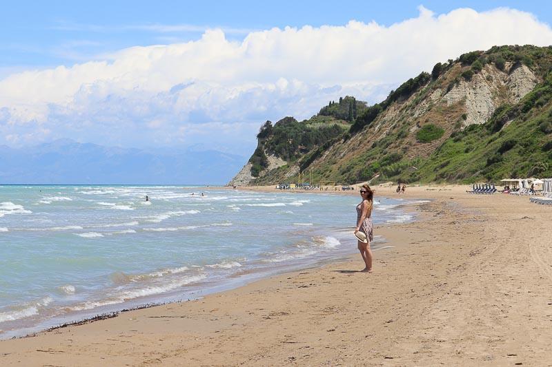 najpiękniejsze plaże Korfu