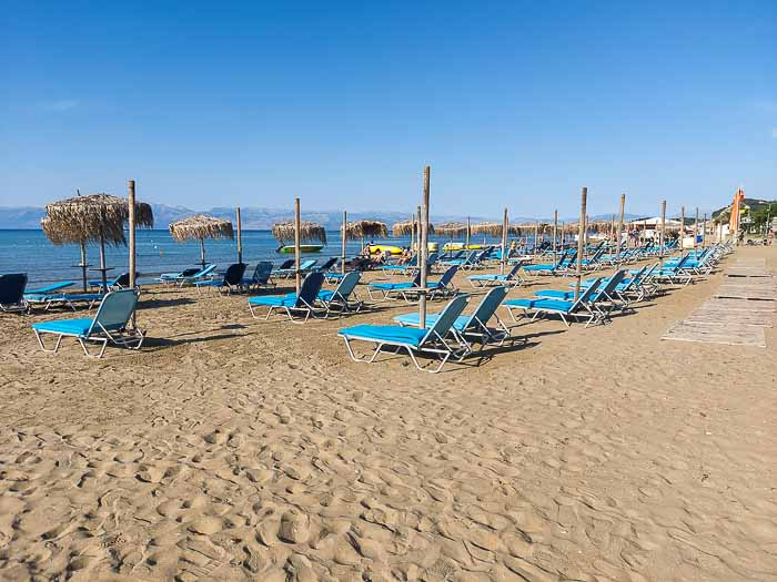 Plaża miejska w Sidari