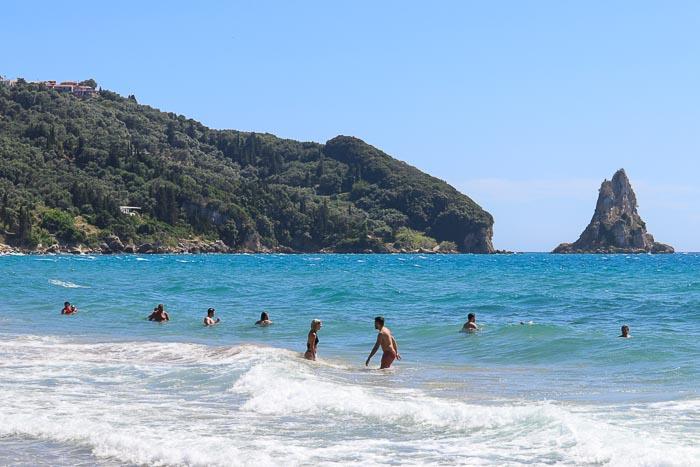 Korfu najpiękniejsze plaże