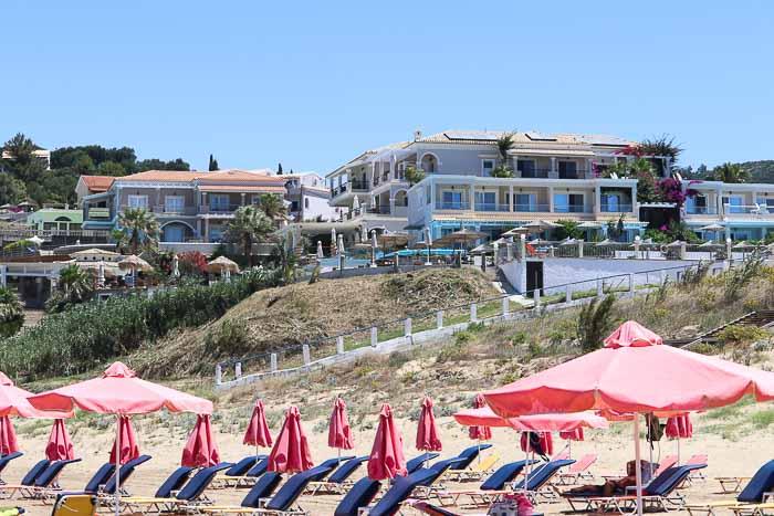 plaża Agios Stefanos Korfu