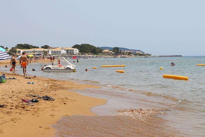 plaże Korfu paralia Issos