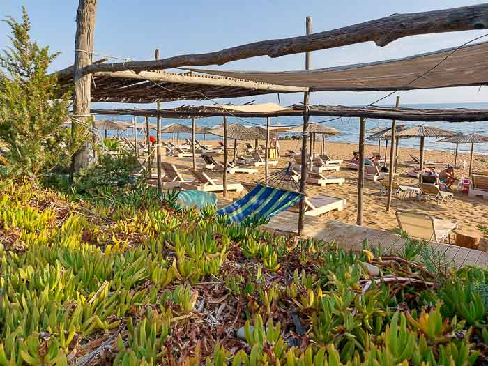 plaża Kanoula korfu