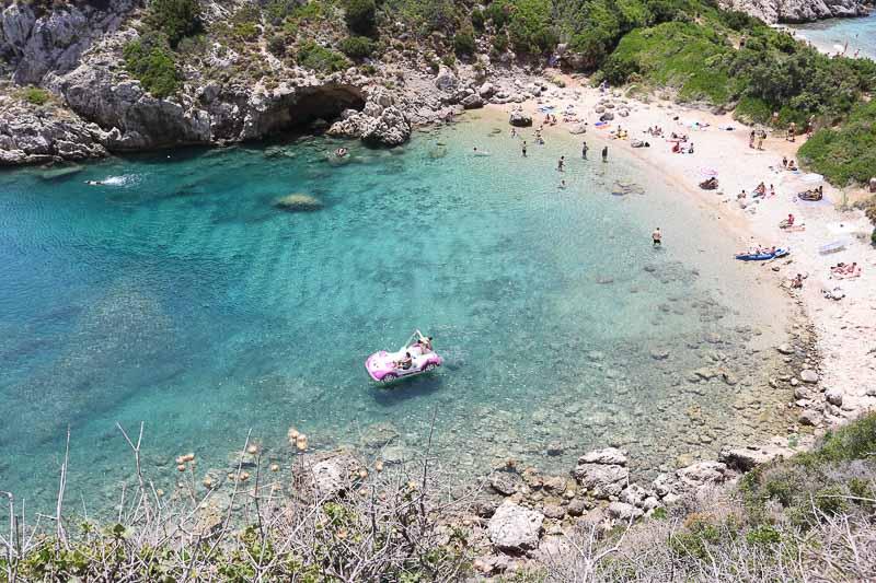 plaża porto timoni Korfu