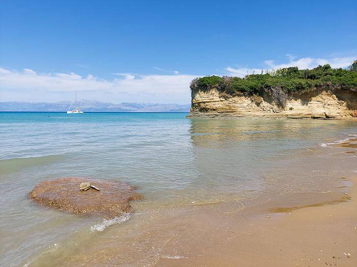 sidari korfu plaże