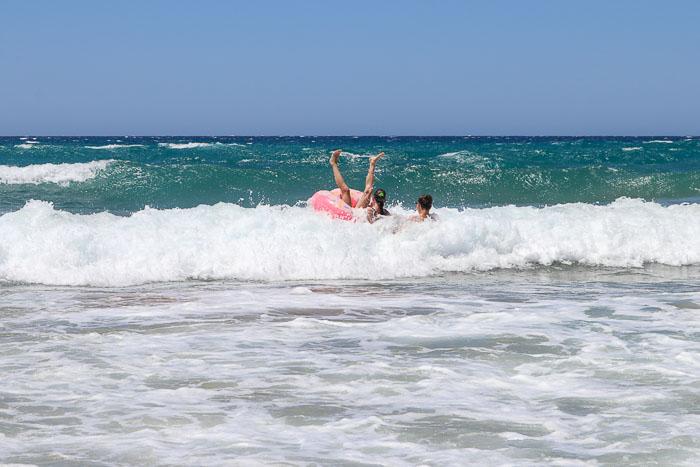 Korfu plaża Agios Gordios