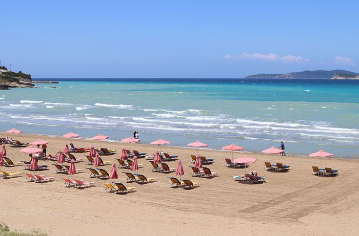 plaże Korfu