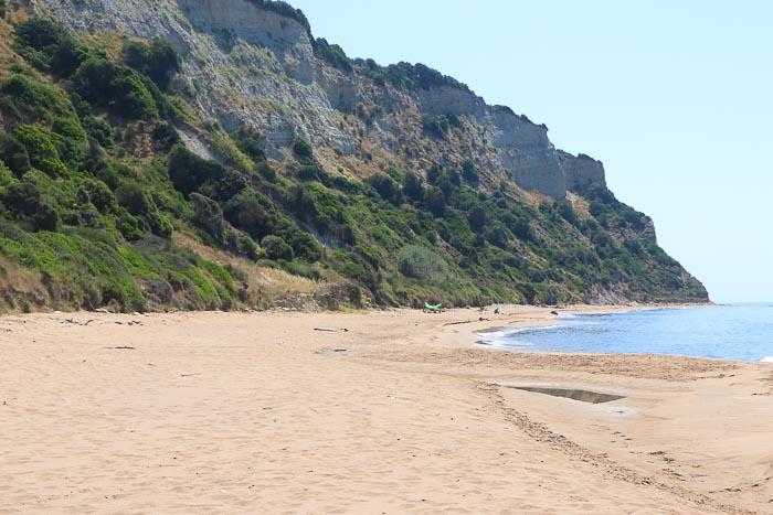 secret paradise beach Korfu