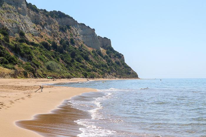 Willa przy plaży Korfu